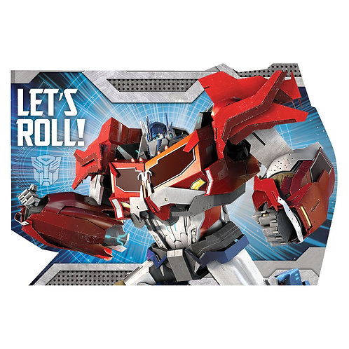 Transformers™ Postcard Invitations