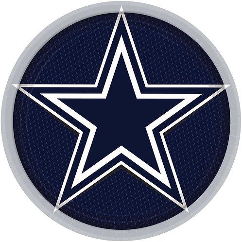 "Dallas Cowboys 9""Round Plate"