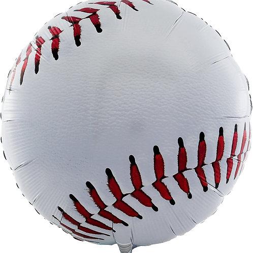 "17"" Foil Baseball Balloon"