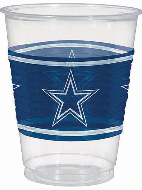 Dallas Cowboys Plastic Cups