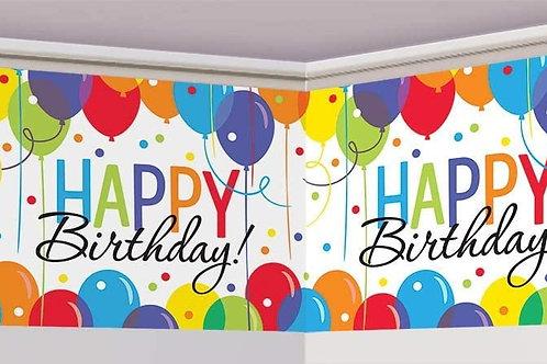 Balloon Bash Banner Roll