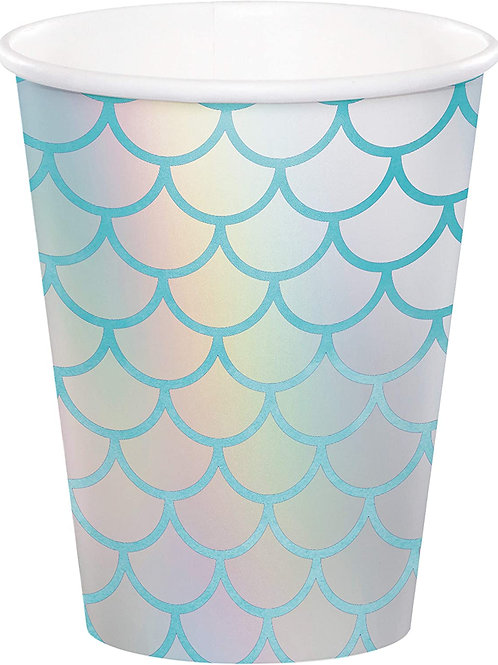 Mermaid Print 9oz. Cups