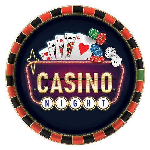 Casino Square Platter