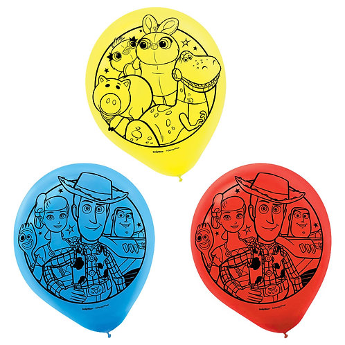 """Toy Story 12"""" Latex Balloons"""
