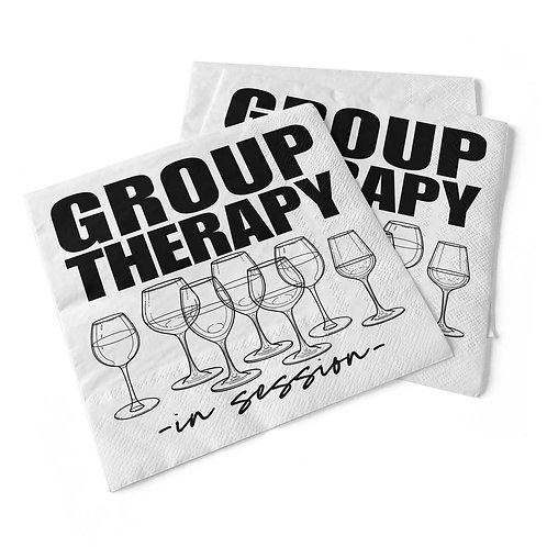 Group Therapy | Beverage Napkins