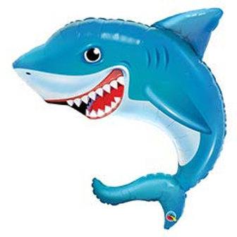 "36"" Smiling Shark Balloon"