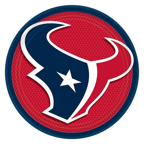 Houston Texas Round Plates