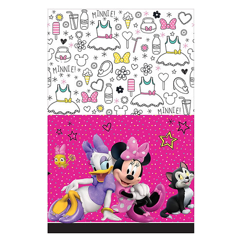 ©Disney Minnie Mouse Happy Helpers Plastic Tablecover