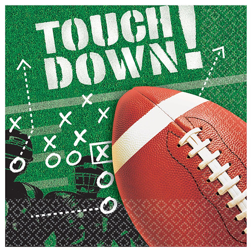 Football Frenzy Lunch Napkins