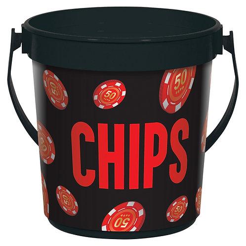 Casino Chip Bucket