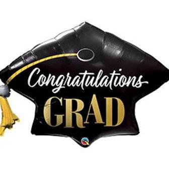 "41"" Congratulations Grad Cap Balloon"
