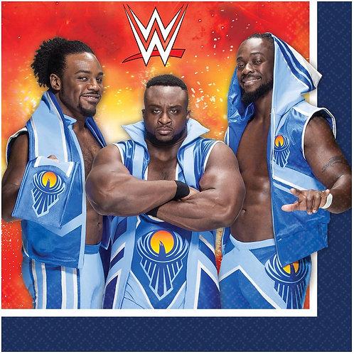 WWE Wrestling Luncheon Napkins