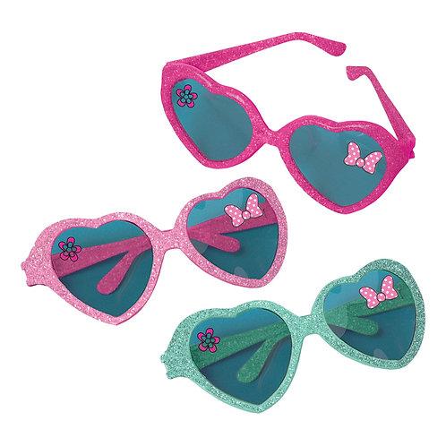 Minnie Mouse Glitter Glasses