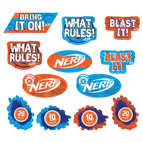 Nerf® Value Pack Cutouts