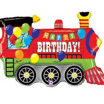"""37""""HBD Train Balloon"""