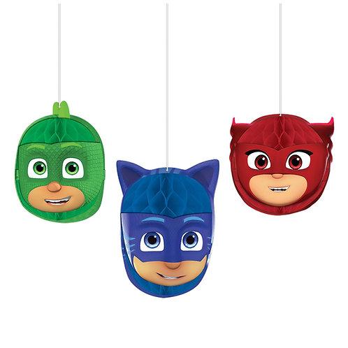 PJ Masks Honeycomb Decor