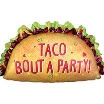 """33"""" 'Taco Bout a Party' Balloon"""