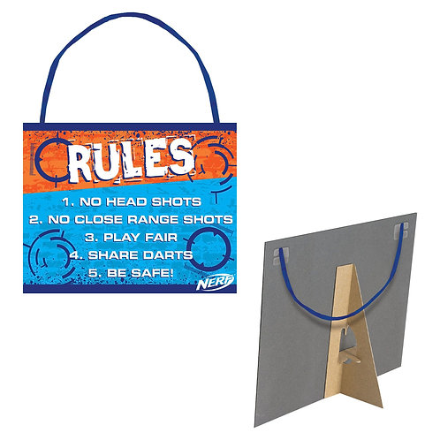 Nerf® Rules Sign