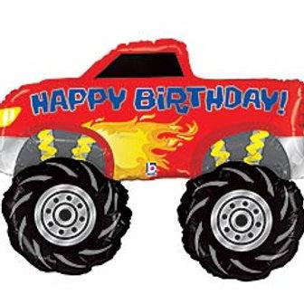 """40"""" HBD Monster Truck Balloon"""