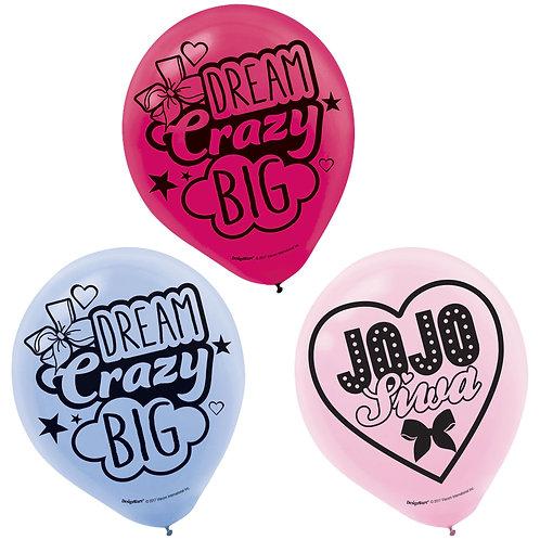 JoJo Siwa Printed Latex Balloons