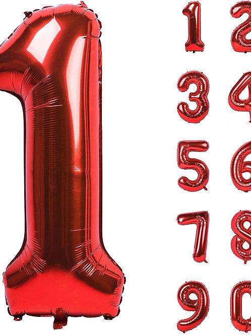 "34"" - 40"" Balloon Number"