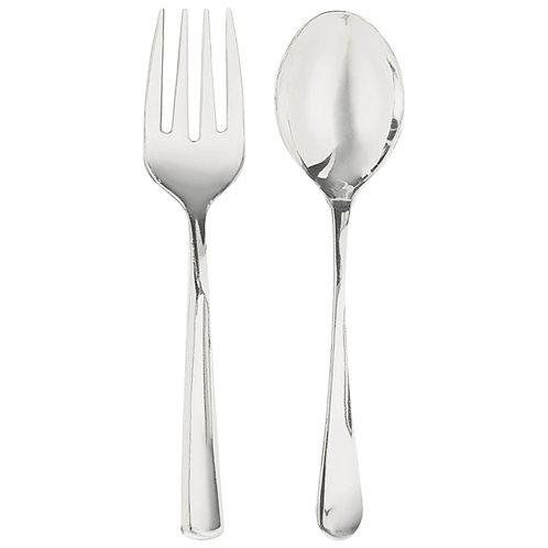 Serving Spoon & Fork Set