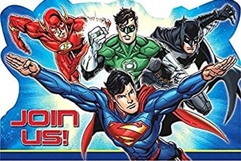 Justice League™ Postcard Invitations