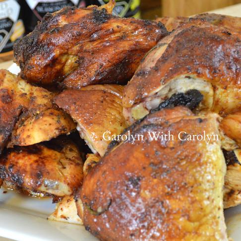 HONEY CITRUS BRINE CHICKEN RECIPE |Cooking With Carolyn
