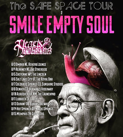 The Safe Space Tour Leg 2 - Smile Empty