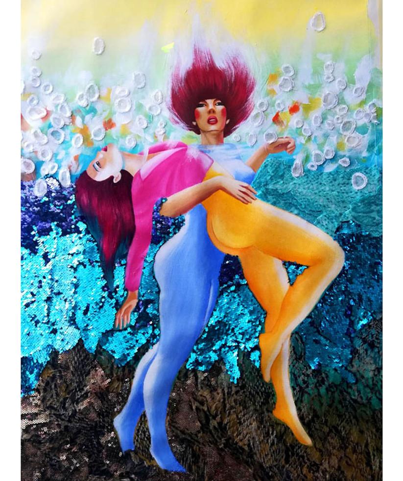 underwater dance