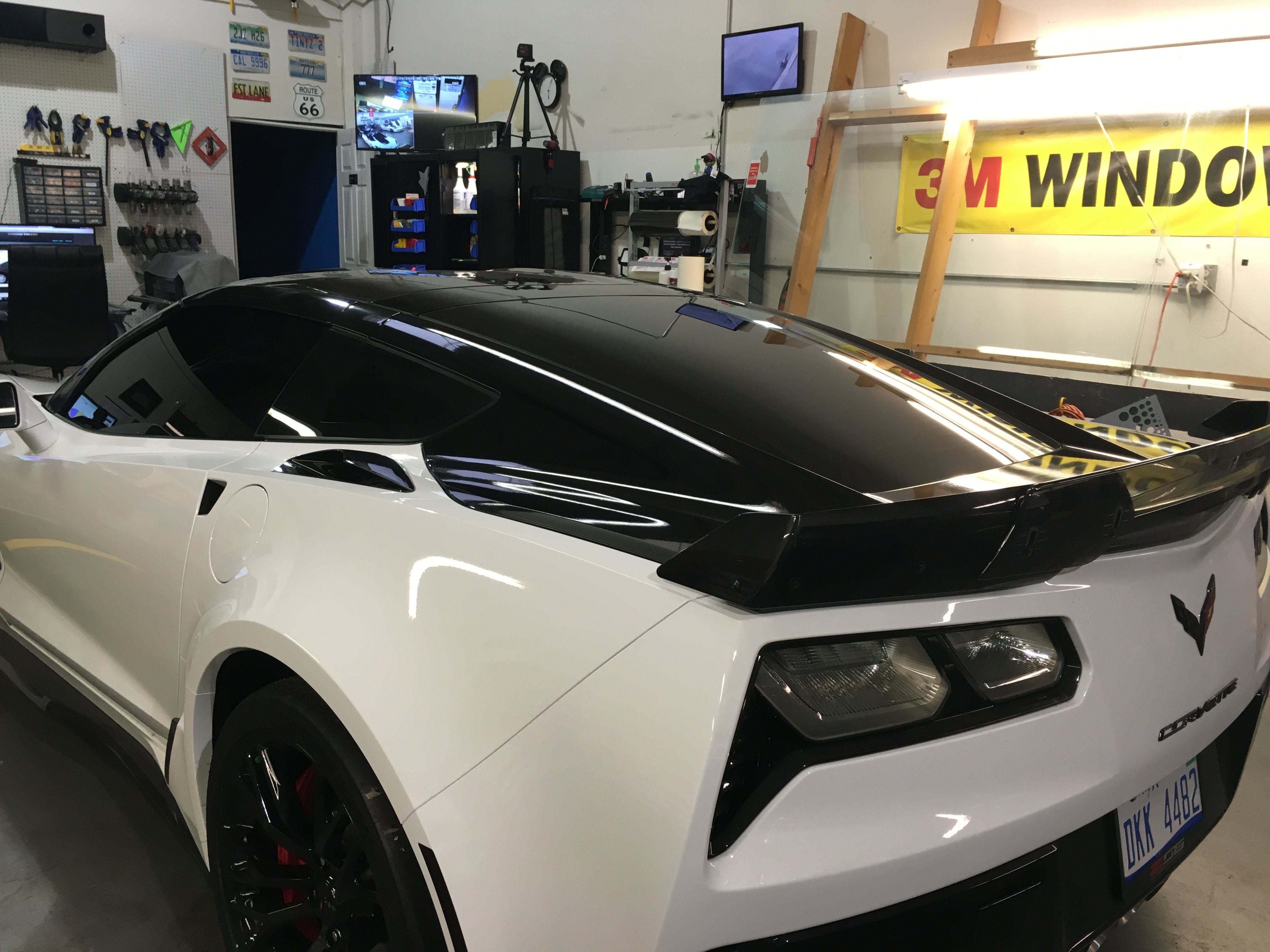 2016 CORVETTE BACK LID WRAP
