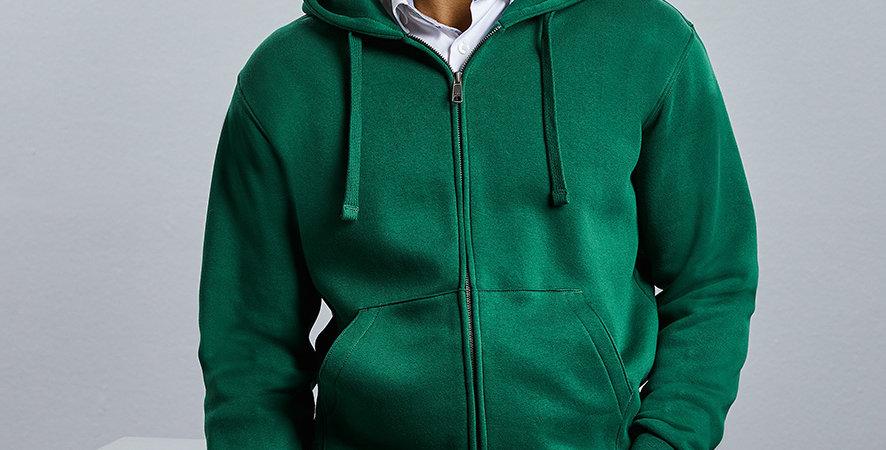266MRussell Authentic Zip Hooded Sweatshirt