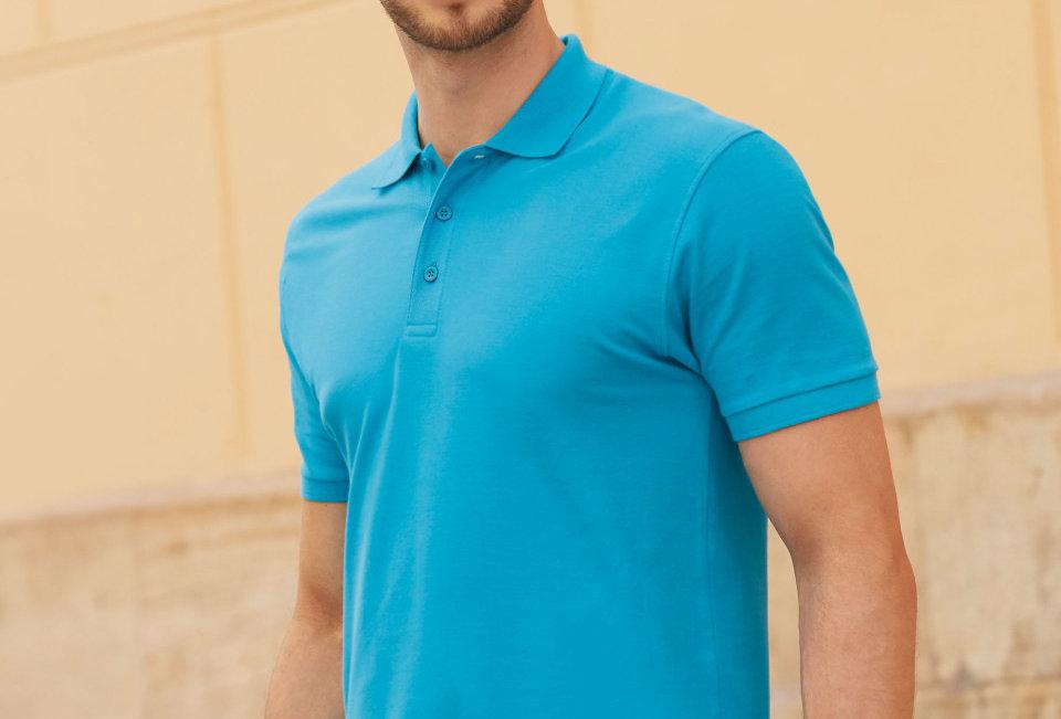 Men's Premium Polo Fruit of the Loom Polo Shirt