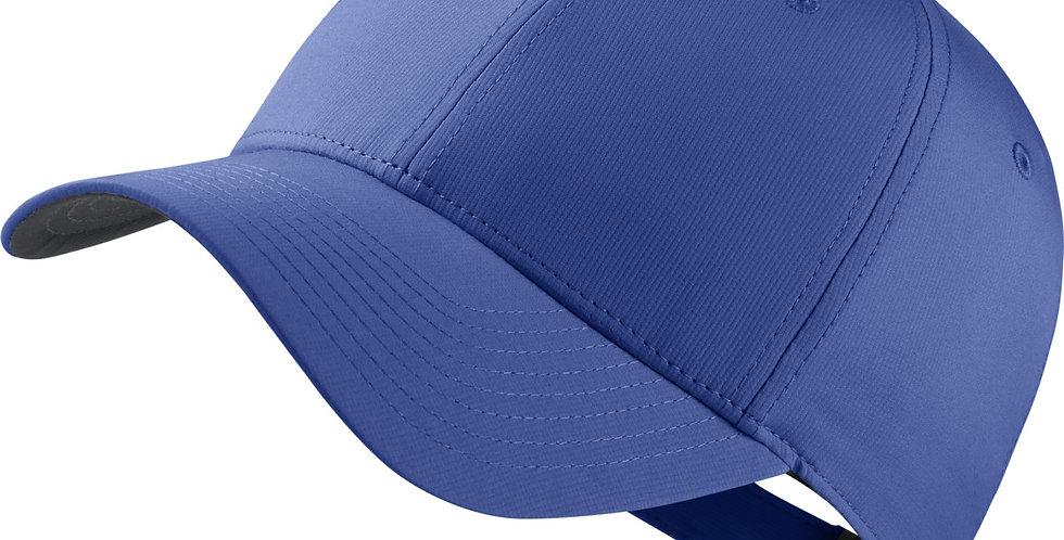 Mens Womens Nike Legacy 91 Custom Tech Blank Golf Cap obsidian front