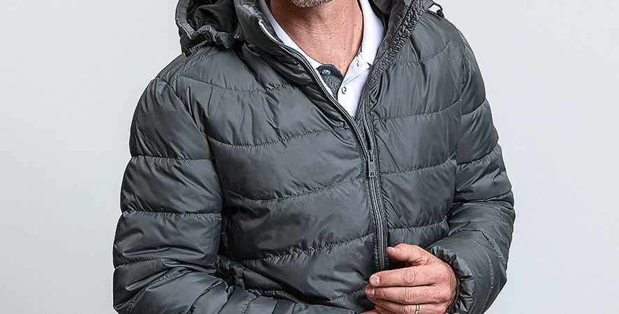 440M Russell Hooded Nano Padded Jacket