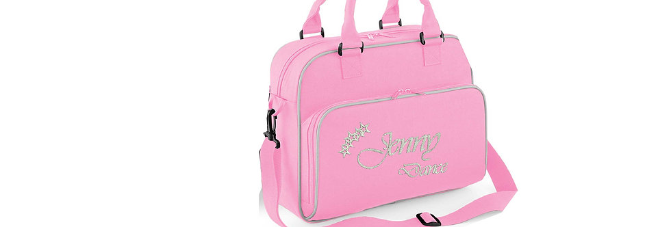 Personalise Your Name Dance Bag pink
