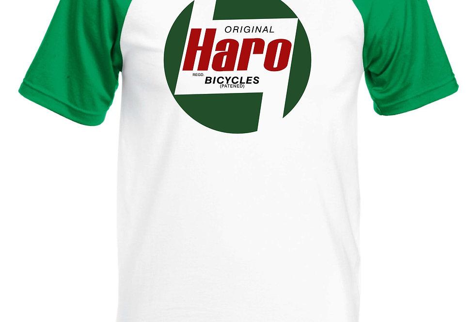 Haro Vintage logo BMX T-Shirt green