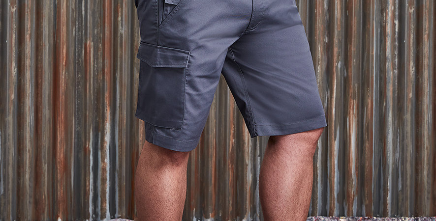 Russell Workwear PolyCotton Shorts 002M