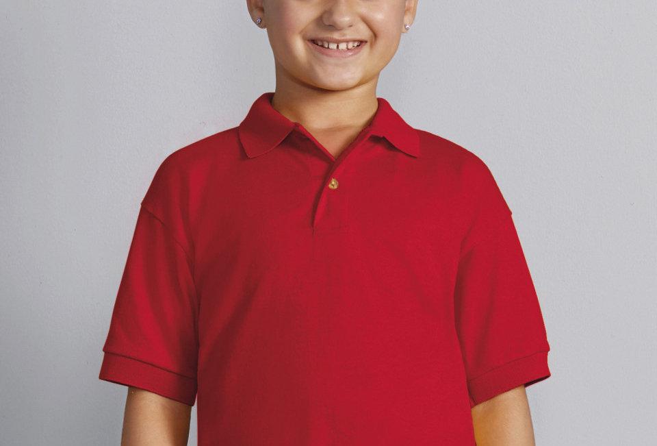 Youths Polo shirt sample