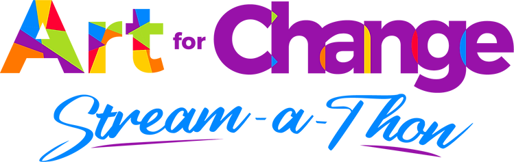 Art For Change Stream-a-thon logo (1).pn
