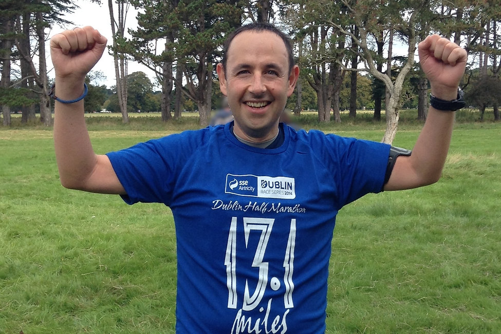 Neil Gabbie,life coach in dublin,Achievement, goal, target, running, dream,half marathon,never give up
