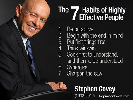 A Quick Guide To Covey's 7 Habits