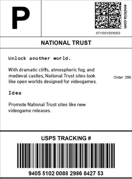 National Trust. Unlock another world.