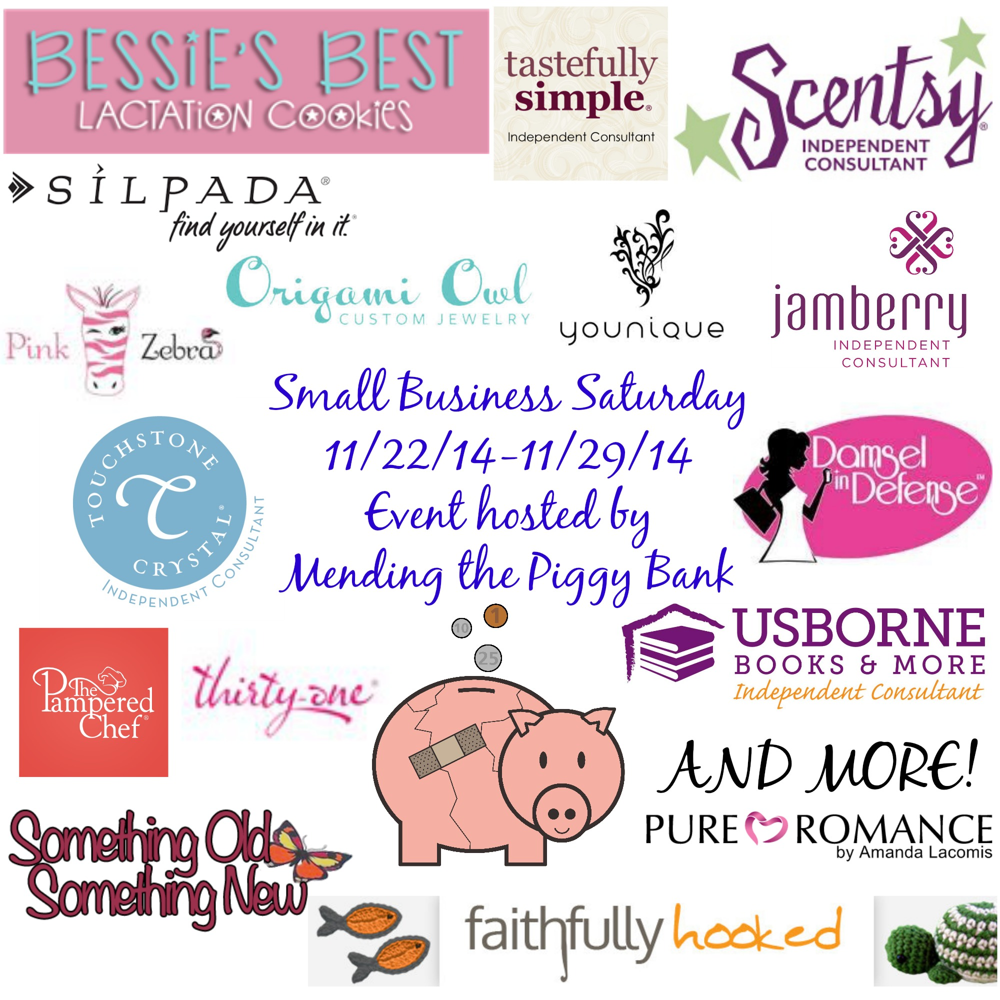 Shopping small with mending the piggy bank small business shopping small with mending the piggy bank small business saturday update mending the piggy bank xflitez Gallery