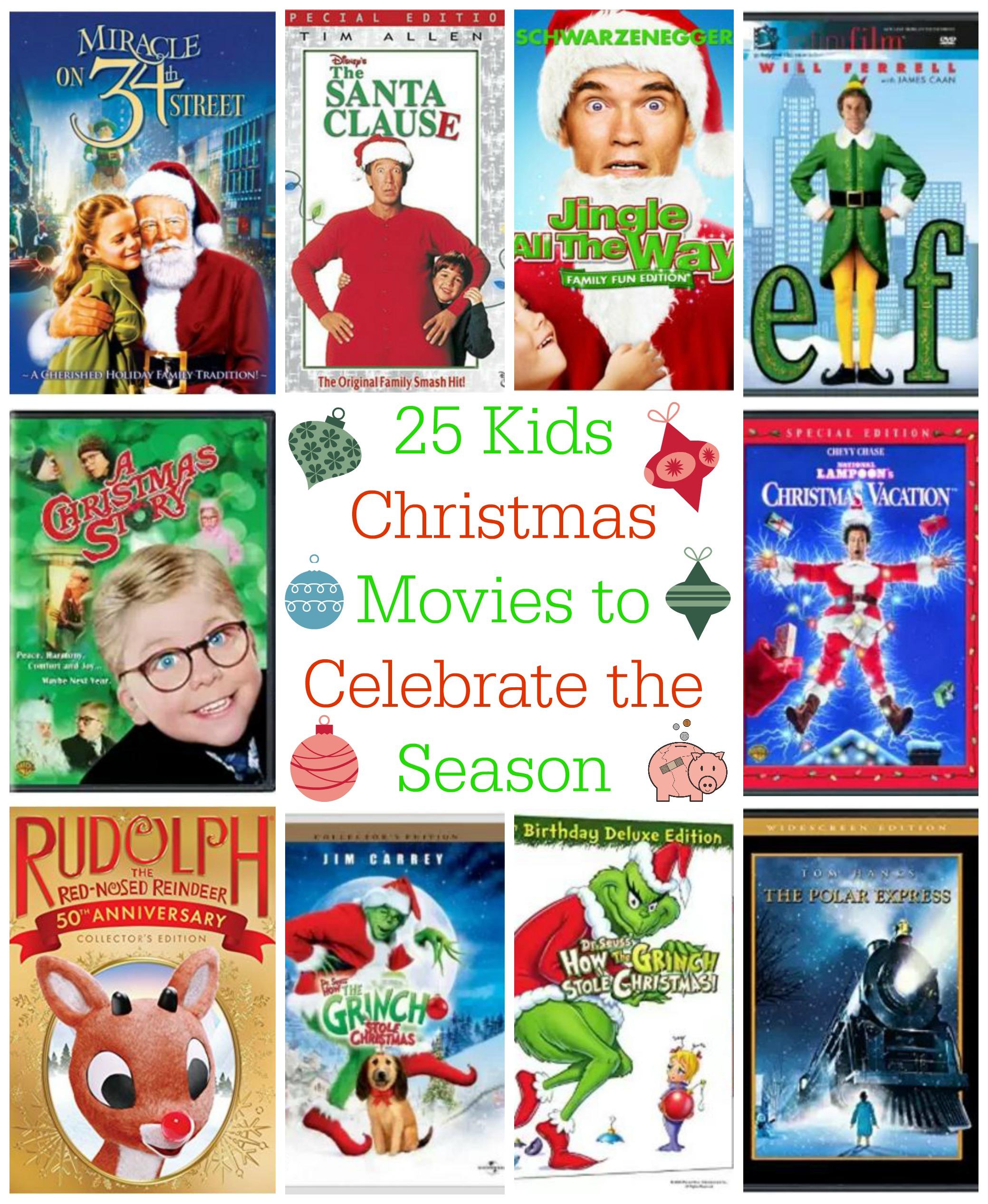 25 Kids Christmas Movies to Celebrate the Season | Mending the Piggy ...