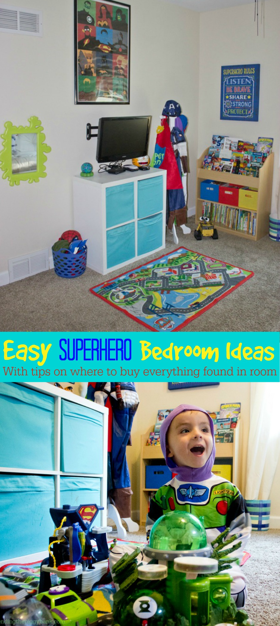 Easy Superhero Bedroom Ideas