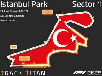 Istanbul Park Track Guide   Sector 1   Assetto Corsa