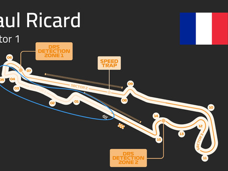 Paul Ricard Track Guide   Sector 1