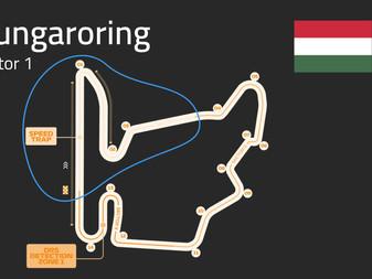 Hungaroring Track Guide   Sector 1   F1 2021