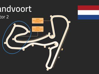 Zandvoort Track Guide   Sector 2   F1 2021